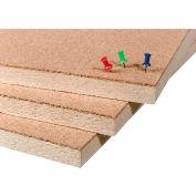 "Balt® Natural Add Cork Tackboard - Unframed, 48""W x 72""H"