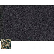 "Balt® Rubber-Tak Tackboard with Black Ultra Trim 72""W x 48""H Tan"