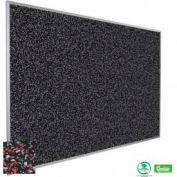 "Balt® Rubber-Tak Tackboard with Aluminum Trim 48""W x 48""H Red"