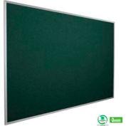 """Balt® Fabric Cork-Plate Tackboard with Aluminum Trim 72""""W x 48""""H Spruce"""
