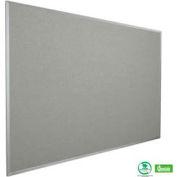 """Balt® Fabric Cork-Plate Tackboard with Aluminum Trim 72""""W x 48""""H Granite"""