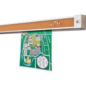 Balt® Tack-Bite Tackless Paper Holders - 4' - Set of 6