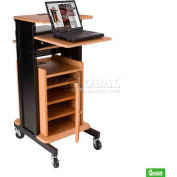 Optional Cherry Cabinet for Balt® Xtra Long Cherry Presentation Cart