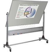 "Balt® Platinum Reversible 96""W x 48""H Projection Plus/Porcelain Steel Markerboard"