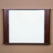 "Balt® Tambour Door Conference Cabinet 44""W x 32""H - Mahogany"