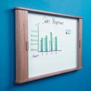 """Balt® Tambour Door Conference Cabinet 44""""W x 32""""H - Oak"""