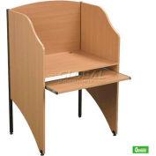 Balt® 89830 Standard Floor Carrel - Teak