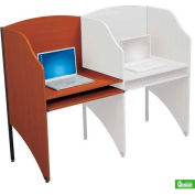 Balt® 90125 Standard Add-A-Carrel - Cherry