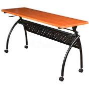 "Balt® Chi Flipper Seminar Table - 72"" x 20"" - Cherry"