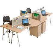 iFlex Open Office System - Teak