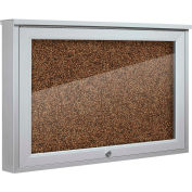 "Balt® Weather Sentinel Outdoor Enclosed Cabinet - Rubber-Tak Surface - 24""W x 18""H Tan"