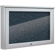 """Balt® Weather Sentinel Outdoor Enclosed Cabinet - Rubber-Tak Surface - 24""""W x 18""""H Blue"""