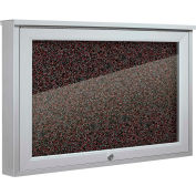 """Balt® Weather Sentinel Outdoor Enclosed Cabinet - Rubber-Tak Surface - 24""""W x 18""""H Red"""