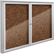 "Balt® Weather Sentinel Outdoor Enclosed Cabinet - 2 Doors - 48""W x 36""H Tan"