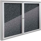 "Balt® Weather Sentinel Outdoor Enclosed Cabinet - 2 Doors - 48""W x 36""H Black"