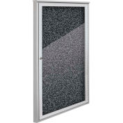 "Balt® Weather Sentinel Outdoor Enclosed Cabinet - 1 Door - 24""W x 48""H Black"