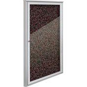 """Balt® Weather Sentinel Outdoor Enclosed Cabinet - 1 Door - 24""""W x 48""""H Red"""