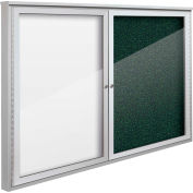 "Balt® Weather Sentinel Outdoor Enclosed Cabinet - 2 Doors - 48""W x 36""H Green"