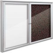 "Balt® Weather Sentinel Outdoor Enclosed Cabinet - 2 Doors - 48""W x 36""H Red"