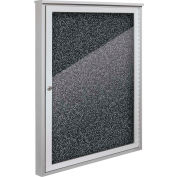 """Balt® Weather Sentinel Outdoor Enclosed Cabinet - 1 Door - 36""""W x 48""""H Black"""