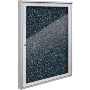 "Balt® Weather Sentinel Outdoor Enclosed Cabinet - 1 Door - 36""W x 48""H Blue"