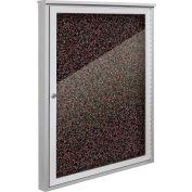 """Balt® Weather Sentinel Outdoor Enclosed Cabinet - 1 Door - 36""""W x 48""""H Red"""