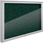 """Balt® Weather Sentinel Outdoor Enclosed Cabinet - Rubber-Tak Surface - 48""""W x 36""""H Green"""