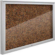 """Balt® Weather Sentinel Outdoor Enclosed Cabinet - Rubber-Tak Surface - 48""""W x 36""""H Tan"""