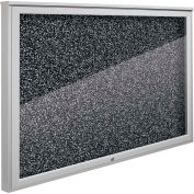 """Balt® Weather Sentinel Outdoor Enclosed Cabinet - Rubber-Tak Surface - 48""""W x 36""""H Black"""