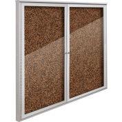 "Balt® Weather Sentinel Outdoor Enclosed Cabinet - 2 Doors - 48""W x 48""H Tan"