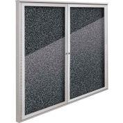"Balt® Weather Sentinel Outdoor Enclosed Cabinet - 2 Doors - 48""W x 48""H Black"