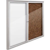 "Balt® Weather Sentinel Outdoor Enclosed Cabinet - 2 Doors - 48""W x 48""H Tan"