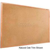 "Balt® Valu-Tak Tackboard with Mahogany Wood Trim 36""W x 24""H"