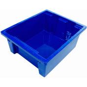 Balt TUBS-4 Plastic Tubs - Set of 4 (2 Red, 2 Blue)