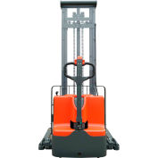 """Ballymore Fully Powered Straddle Stacker Lift Truck BALLYPAL22LSL138 - 2200 Lb. Capacity - 138"""" Lift"""