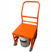 Ballymore- 5 Gallon Container and Cart-BPCRT-O-Orange