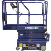 Ballymore Drivable Mini Scissor Lift 10' Platform 500 Lb. Capacity - DMSL-10