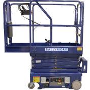 Ballymore Drivable Mini Scissor Lift 12' Platform 500 Lb. Capacity - DMSL-12