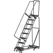 "8 Step 16""W Navigator All-Directional Steel Safety Ladder w/ Standard Rails - Nav-8RS"