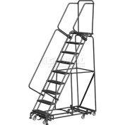 "9 Step 16""W Navigator All-Directional Steel Safety Ladder w/ Standard Rails - Nav-9RS"