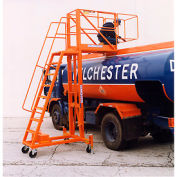 Safety Orange Enamel Paint Finish for Tank Top Lifts