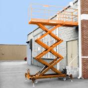 Safety Orange Enamel Paint Finish for Hydraulic-Powered Elevating Platforms