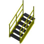 """Bluff 49"""" OSHA Stairway, STAIR36O-6-49"""