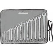 Blackhawk™ By Proto® BW-14PT 14 Piece Full Polish Combination Wrench Set, 12 Point