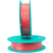 03-2500 Red Colored Paper/Plastic Standard Twist Tie Ribbon - 2500 ft. per Spool