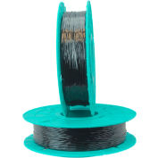 17-2000 Black Non-Metallic Twist Tie Material - 2000 ft. per spool