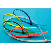 """Intermediate UL Recognized Nylon Cable Tie Red 8"""" x 1/8"""" 1,000 Pack"""