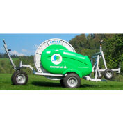 Bauer 8340260 Rainstar A1 Series 40-135 Irrigation System W/Cart, 400' Piping, 13-31 GPM