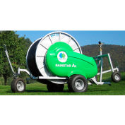 Bauer 8340268 Rainstar A2 Series 58-115 Irrigation System W/Cart, 375' Piping, 22-88 GPM