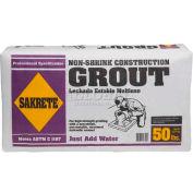 Sakrete® Non-Shrink Construction Grout - 50 Lb. Bag - Pkg Qty 30